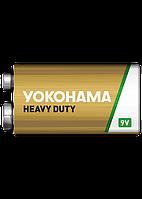 Батарейки Yokohama Heavy Duty Крона 9V 6F22 9V 10шт Shrink