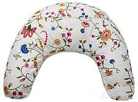 Подушка Лежебока для кормления с рисунком «Весенние цветы», фото 1