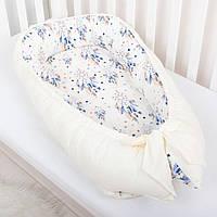 """Кокон - гнездышко,фиксатор,переносная кроватка,защита в кроватку для новорожденных """"Ловец снов"""", фото 1"""