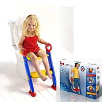 Детское сиденье на унитаз com o Assento Infantil que ten Escada