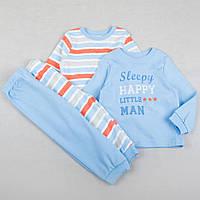 """Детская пижама George """"Спящий красавчик"""", размер 80 см, набор 2 шт"""