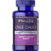 Puritan's Pride One Daily Women's Multivitamin женские витамины для женщин витамины для иммунитета