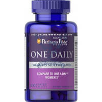 Puritan's Pride One Daily Women's Multivitamin (витамины для женщин)