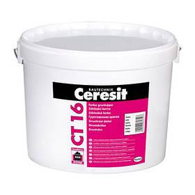Краска грунтующая кварцевая Ceresit СТ 16 (Ст 16) QUARTZCONTACT 10 л