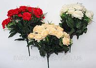 Роза свадебная18 голов  .42 см