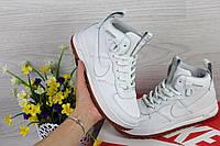 Женские кроссовки кеды высокие найк Nike Lunar Force 1 в стиле