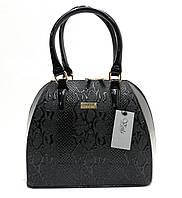Женская лаковая сумка 625239281 Черный