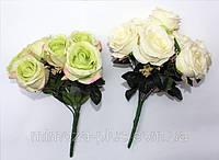 Роза свадебная 7 голов  .40 см