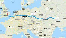 Перевозка личных вещей из Киева в Лондон