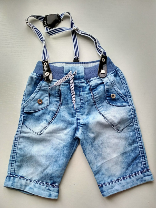 Джинсовые шорты на мальчика 2, 3, 4 года