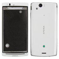 Корпус для мобильных телефонов Sony Ericsson LT15i, LT18i, X12, белый