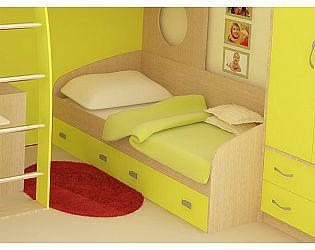 Детская односпальная кровать Аврора