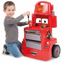 Детская игровая тележка мастерская Cars Smoby 360208