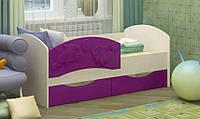Детская односпальная кровать Дельфин