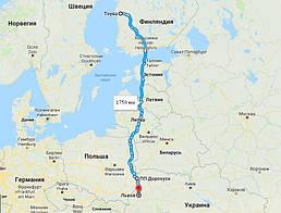 Доставка паркета из Финляндии в Украину