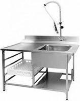 Стол из нержавеющей стали под посудомоечную машину для ресторанов и цехов, общепита