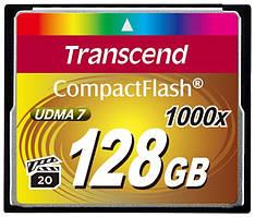 КАРТА ПАМЯТИ TRANSCEND COMPACT FLASH 128 GB (1000X)