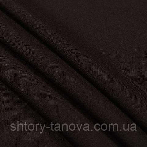 Габардин, тёмно-коричневый