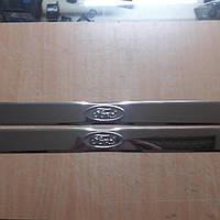Накладки на пороги  2 шт, накладка порога Форд (Ford)