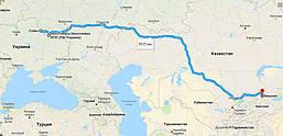 Перевозка пробок из Украины в Киргизию