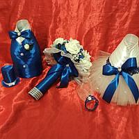 Одежка на шампанское асти/инкерман (набор)