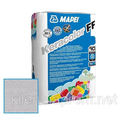 Затирка Mapei Keracolor FF 111/2кг серебристо-серый