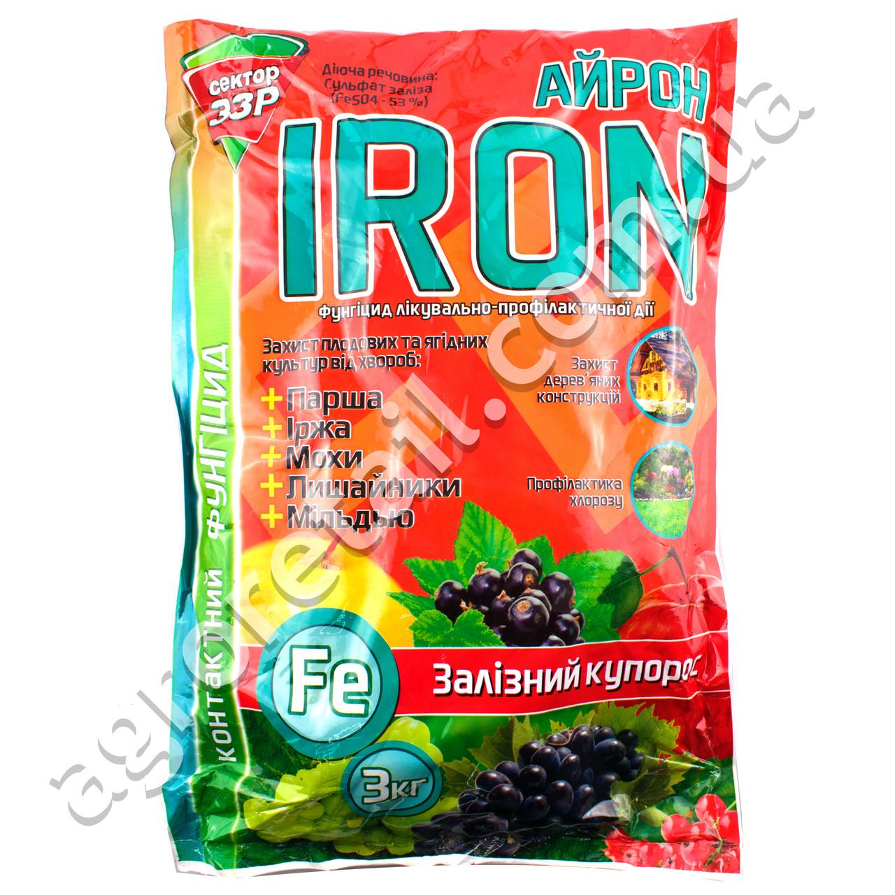 Железный купорос Iron 3 кг Сектор ЗЗР
