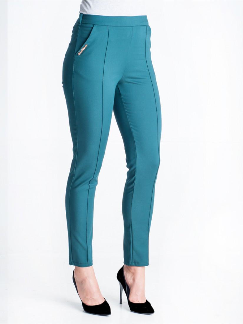 Яркие весенние женские брюки хорошего качества