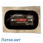 Пластырь радиальный на фольге Rad 114 75 х 145 мм 169+ Omni