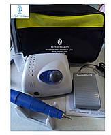 Фрезер STRONG 210 с сумкой 35000об  для профессионального маникюра и педикюра стронг