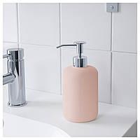 Дозатор для мыла EKOLN розовый