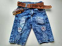 Стильные джинсовые шорты на мальчика