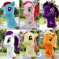 Игрушка рукавичка, 25 см, кукольный театр, мягкие игрушки, Май Литл Пони My Little Pony, куклы рукавички