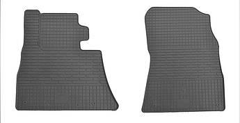 Коврики в салон резиновые передние для BMW X5 E53 2000-2006 Stingray (2шт)