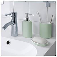 Дозатор для мыла EKOLN светло-зеленый