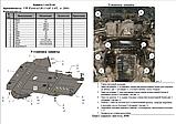 Захист картера двигуна і акпп Volkswagen Passat B5 1996-, фото 6