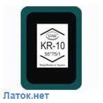 Пластырь кордовый для радиальных шин 1 слой корда 55 x 75 мм Kr 10 Simval