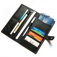 Дорожное портмоне для документов и билетов Air (черный)