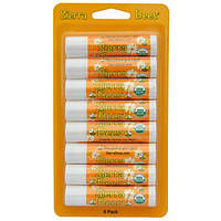 Органические бальзамы для губ, Мед, Sierra Bees,8 штук, каждый по 4,25 г