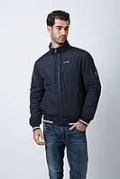 Мужская куртка, под резинку, короткая, демисезонная, бренда Hermzi