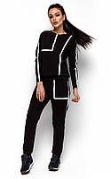 Молодіжний чорний спортивний костюм Alois (S, M)