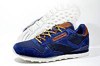Кроссовки мужские Reebok Classic Leather, Синие