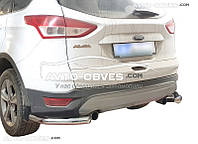 Защитные углы одинарные для Ford Kuga 2013-2016 от ИМ Автообвес
