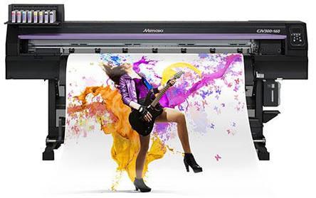 Широкоформатный принтер-каттер Mimaki CJV300, фото 2