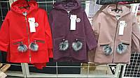 Отличное кашемировое пальто для девочек