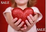 Ко дню св. Валентина нашим любимым клиентам дарим скидочки!!!