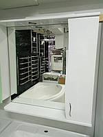 Зеркальный шкафчик для ванной комнаты 85 см