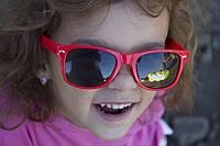 Детские очки красные