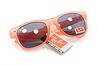 Яркие очки коралловые