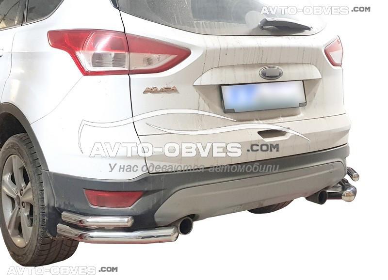 Захисні кути подвійні для Ford Kuga 2017-2020 (вироб АК3)